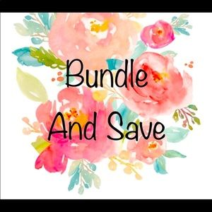 Bundle 2+ items to save 10% and pay 1 shipping fee